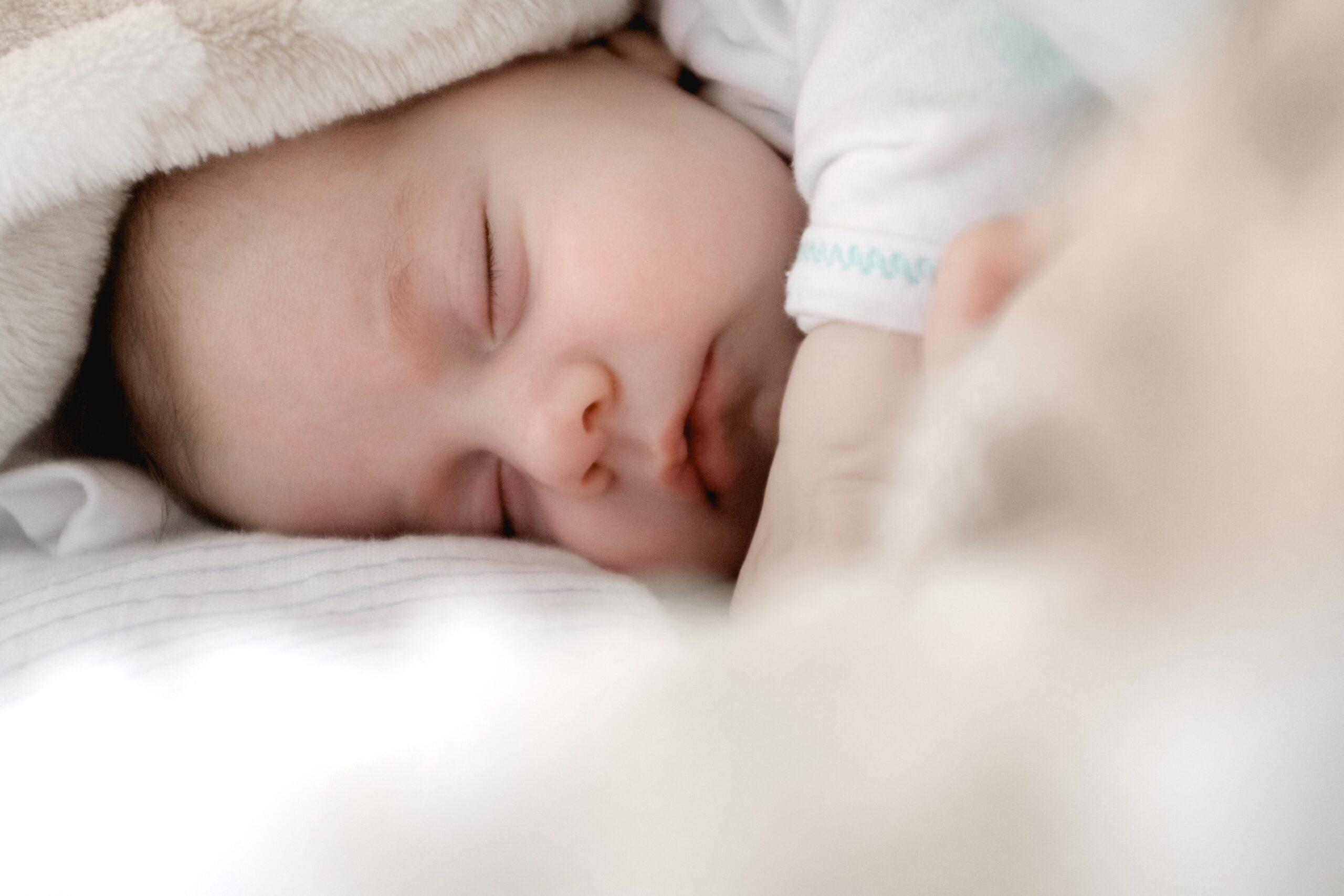 赤ちゃん寝顔1