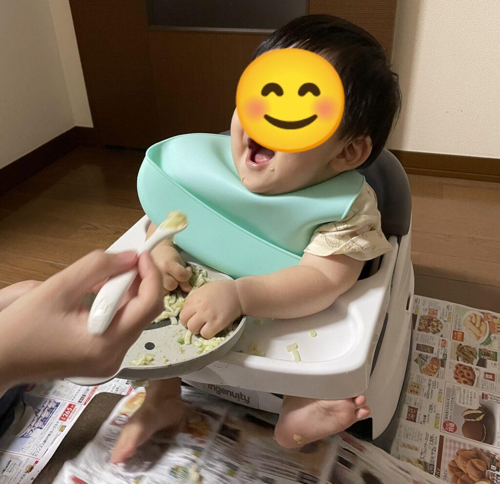 息子離乳食