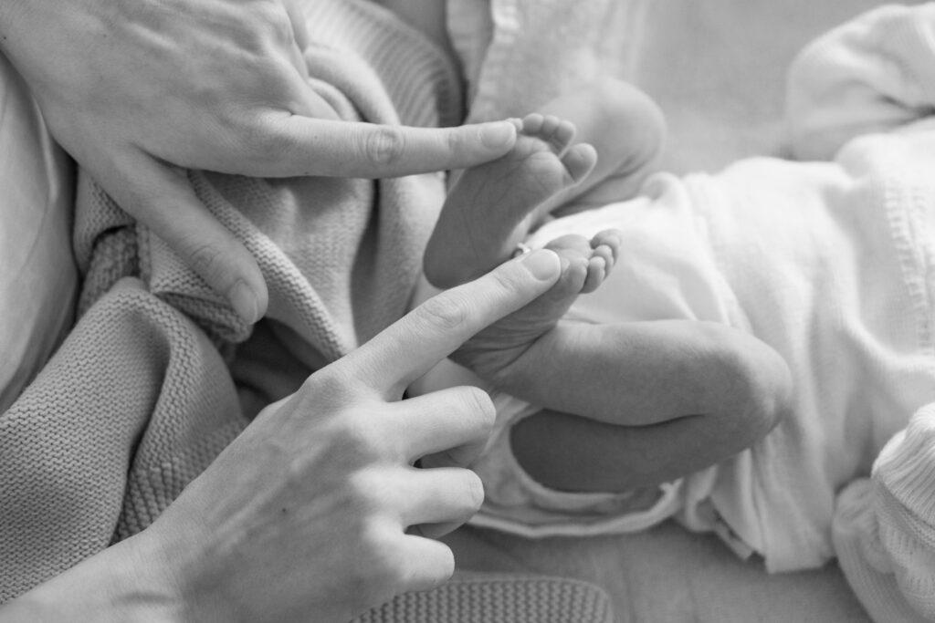 赤ちゃんの足2
