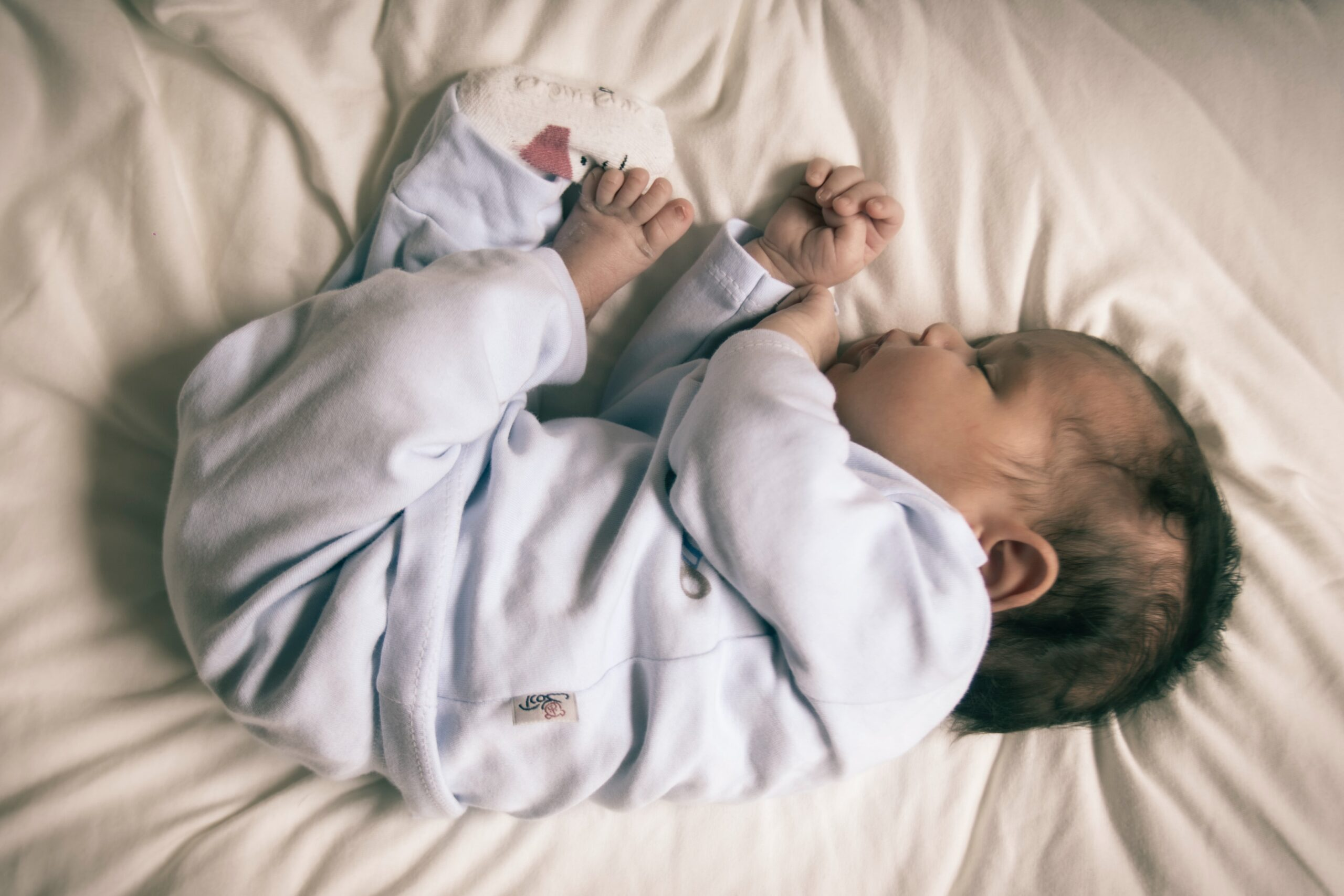 赤ちゃん寝顔2