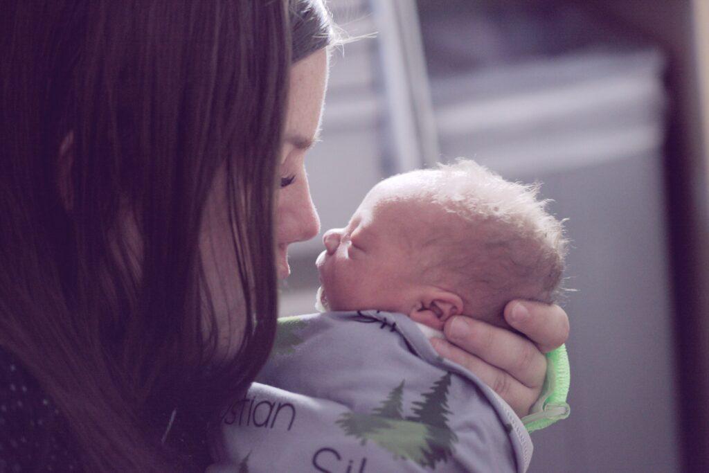 赤ちゃんとママ1